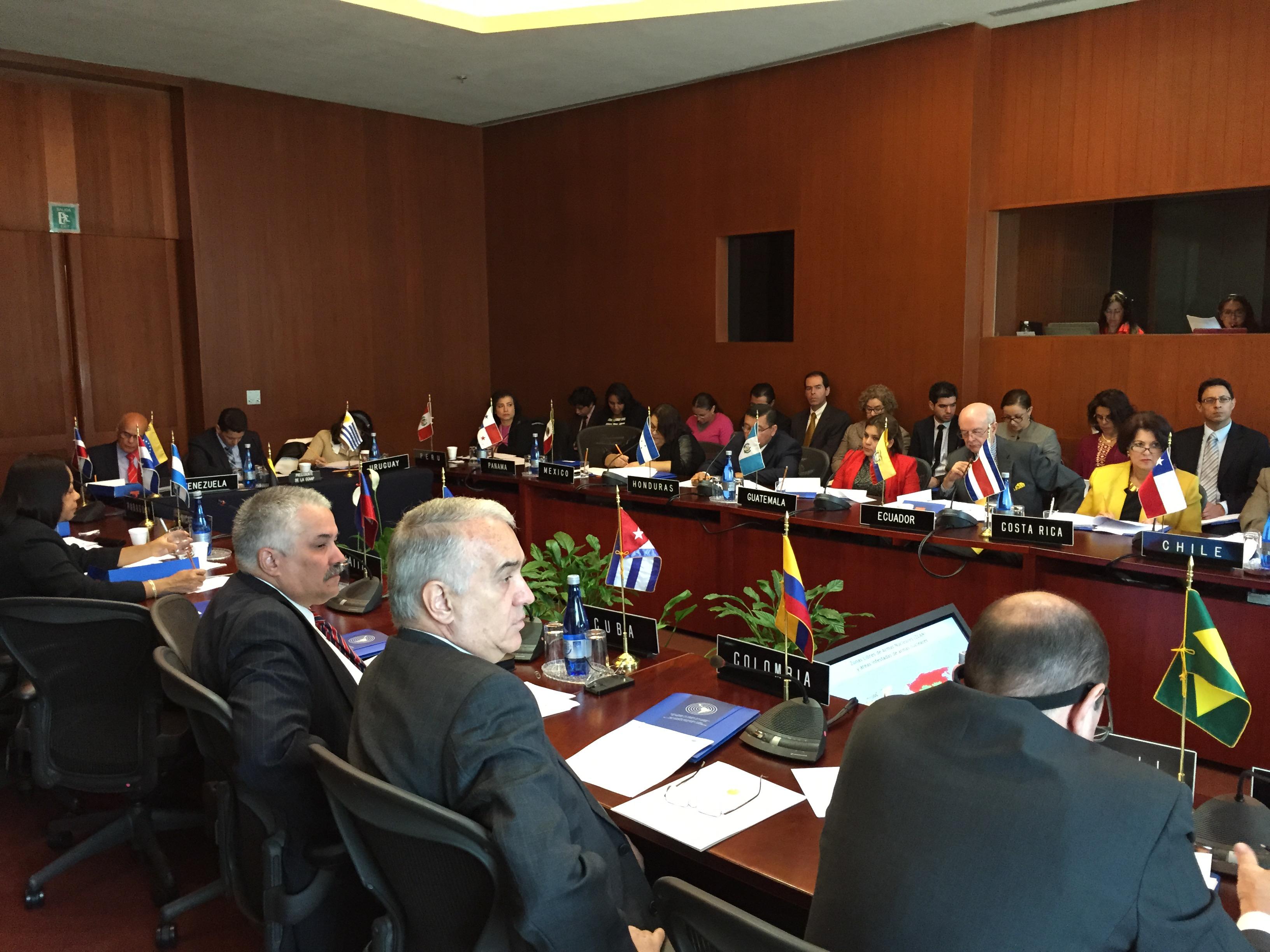 XXIII Período Ordinario de Sesiones de la Conferencia General del OPANAL, noviembre 2015