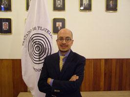 "Jorge Volpi, autor de ""En busca de Klingsor"""