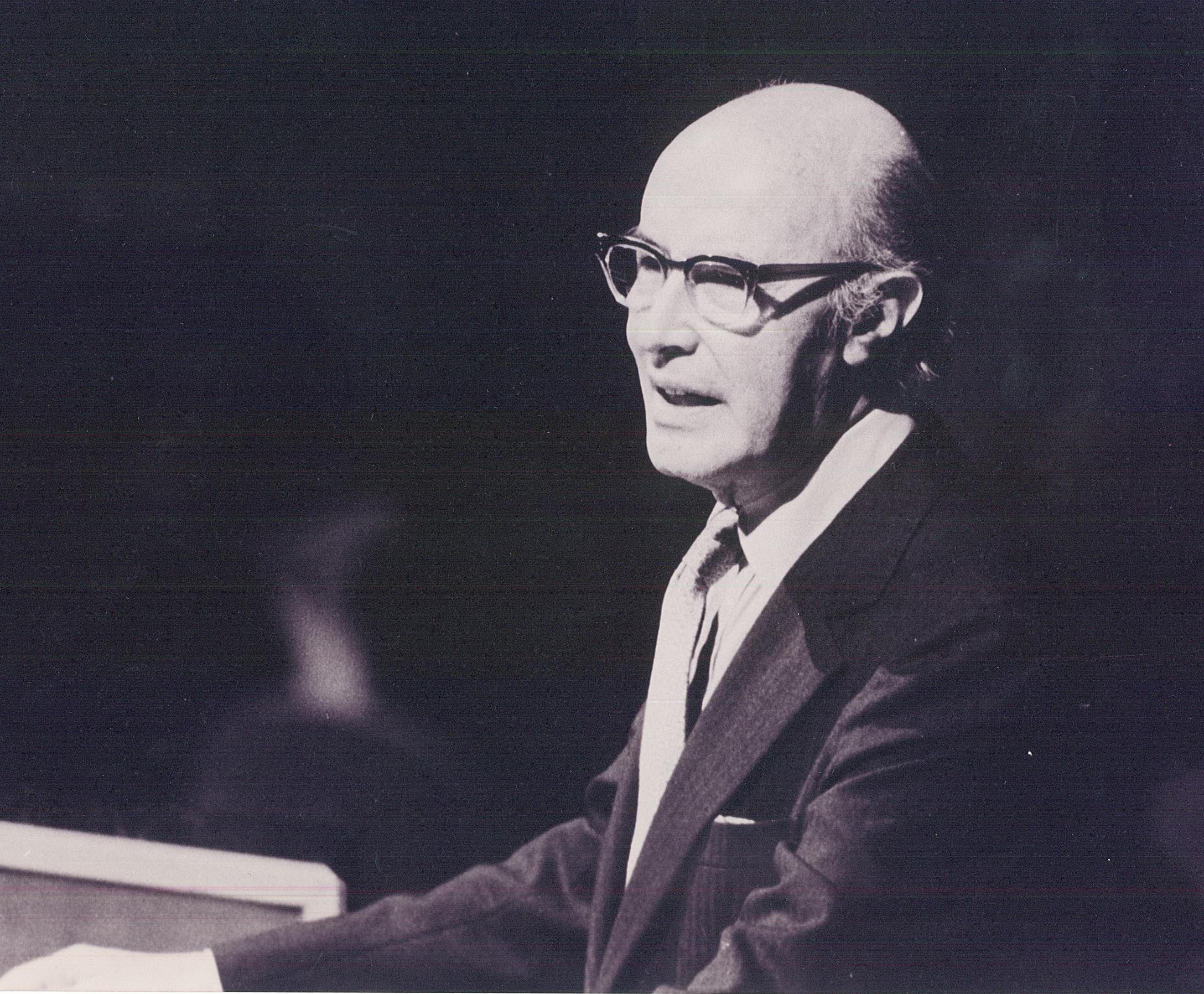 Embajador Emérito Alfonso García Robles