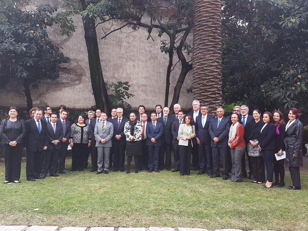 Representantes de Estados Miembros del OPANAL